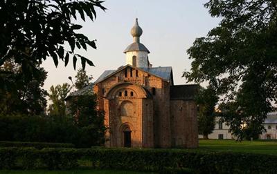 Параскевы Пятницы церковь на Торгу в Новгороде