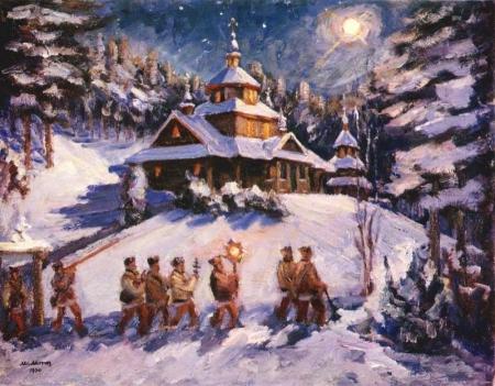 Русские Рождественские песнопения